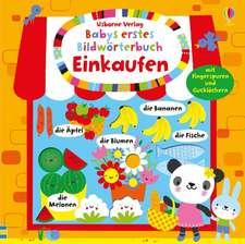 Babys erstes Bildwörterbuch: Einkaufen