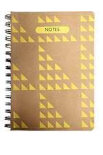 GEOART: Medium Spiral-bound Notebook