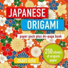 Japanese Origami: Paper pack plus 64-page book