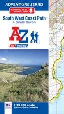SW Coast Path South Devon Adventure Atlas