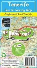 Tenerife Bus & Touring Map