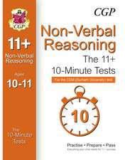 10-Minute Tests for 11+ Non-Verbal Reasoning (Ages 10-11) - CEM Test
