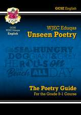 New Grade 9-1 GCSE English Literature WJEC Eduqas Unseen Poetry Guide