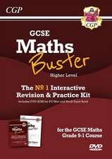 CGP Books: MathsBuster: GCSE Maths Interactive Revision (Gra