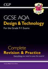 New Grade 9-1 Design & Technology AQA Complete Revision & Practice (with Online Edition)
