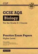 New Grade 9-1 GCSE Biology AQA Practice Papers: Higher Pack 1