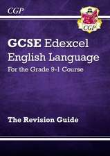 New GCSE English Language Edexcel Revision Guide - for the Grade 9-1 Course