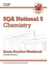 New National 5 Chemistry: SQA Exam Practice Workbook - includes Answers