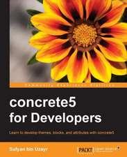 Concrete5 for Developers:  Blocks