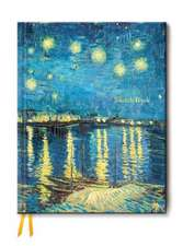 Van Gogh: Starry Night Over the Rhone (Blank Sketch Book)