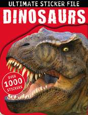 Ultimate Sticker File:  Dinosaurs