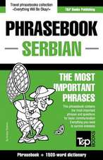English-Serbian Phrasebook and 250-Word Mini Dictionary:  Proceedings of the 43rd Annual Conference on Computer Applications and Quantitative Methods in Archaeology