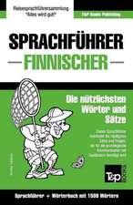 Sprachfuhrer Deutsch-Finnisch Und Kompaktworterbuch Mit 1500 Wortern