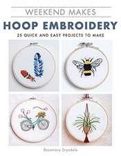 Weekend Makes: Hoop Embroidery