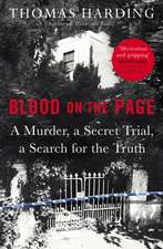 Harding, T: Blood on the Page