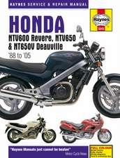 Honda NTV600 Revere, NTV650 & NT650V Deauville (88 - 05) Haynes Repair Manual