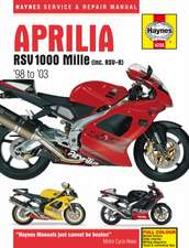 Aprilia RSV 1000 Mille (Inc. RSV-R) '98 to '03:  An Insight Into the History, Development, Production and Role of the Brit