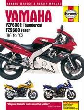 Yamaha YZF600R Thundercat & FZS600 Fazer (96 - 03) Haynes Repair Manual