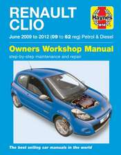 Renault Clio (Jun '09-'12) 09 To 62