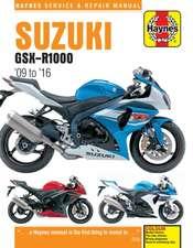 Suzuki GSX-R1000 (09 - 16) Haynes Repair Manual