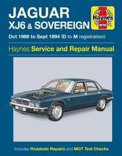 Jaguar XJ6 & Sovereign Owners Workshop Manual
