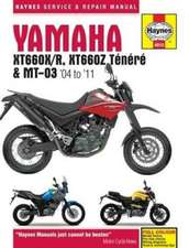 Yamaha XT660 & MT-03 Service and Repair Manual 2004-2011