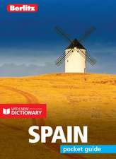 Berlitz Pocket Guide Spain (Travel Guide with Dictionary)