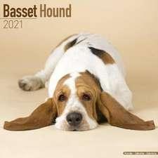 Basset Hound 2021 Wall Calendar