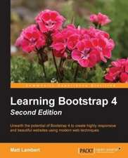 Learning Bootstrap 4 Second Edition