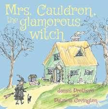 Mrs. Cauldron, the glamorous witch