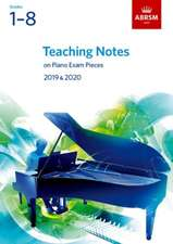 Teaching Notes on Piano Exam Pieces 2019 & 2020, ABRSM Grades 1-8