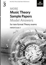 More Music Theory Sample Papers Model Answers, ABRSM Grade 3
