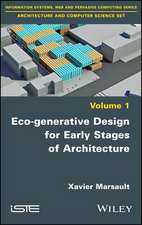 Eco–generative Design for Early Stages of Architecture
