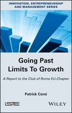 Going Past Limits To Growth: A Report to the Club of Rome EU–Chapter