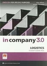 In Company 3.0 ESP Logistics Student's Pack