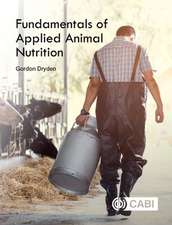 Fundamentals of Applied Animal Nutrition