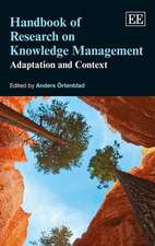 Handbook of Research on Knowledge Management