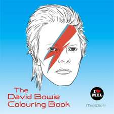 The David Bowie Colouring Book