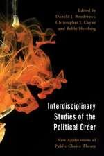 Interdisciplinary Studies of the Political Order