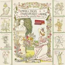 Shakespeare Birthplace Trust - Shakespeare's Garden Wall Calendar 2019