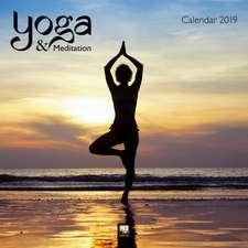 Yoga & Meditation Wall Calendar 2019 (Art Calendar)