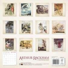 Arthur Rackham Wall Calendar 2019 (Art Calendar)