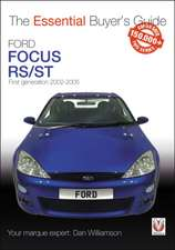 Ford Focus Mk1 Rs/St170: First Generation 2002 to 2005