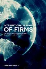 Internationalization of Firms