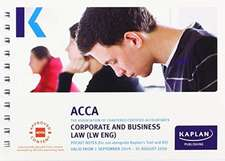 CORPORATE AND BUSINESS LAW (ENG) - POCKET NOTES