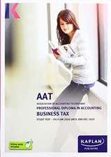 BUSINESS TAX (FA19) - STUDY TEXT