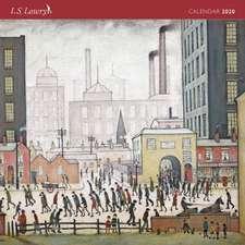 L.S. Lowry Wall Calendar 2020 (Art Calendar)