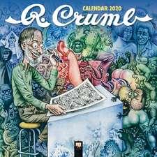 R. Crumb Wall Calendar 2020 (Art Calendar)