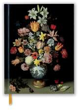National Gallery: Bosschaert: A Still Life of Flowers (Blank Sketch Book)
