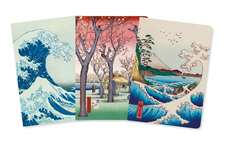 Japanese Woodblocks Mini Notebook Collection